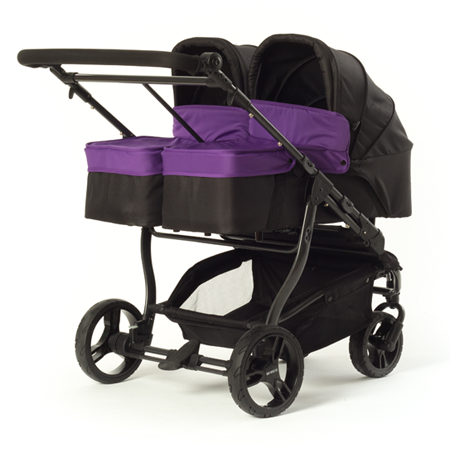 Capazo principal Easy Twin de Baby Monsters morado