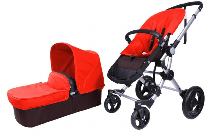 Duo BabyAce 042 choco de Baby Essentials plata rojo