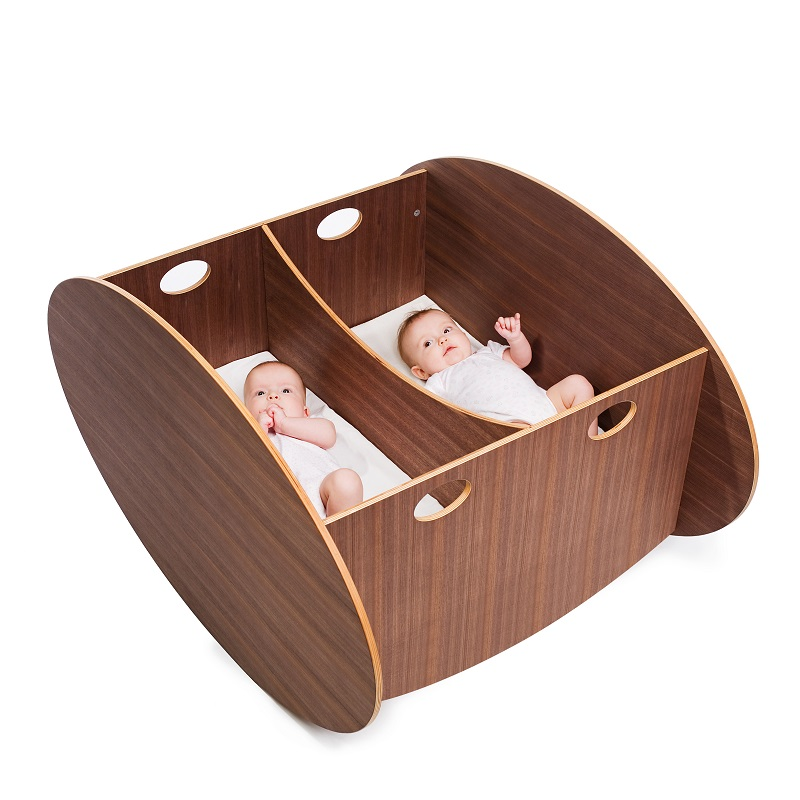 Minicuna So-Ro Gemelar de Babyhome - BH015010601 chocolate