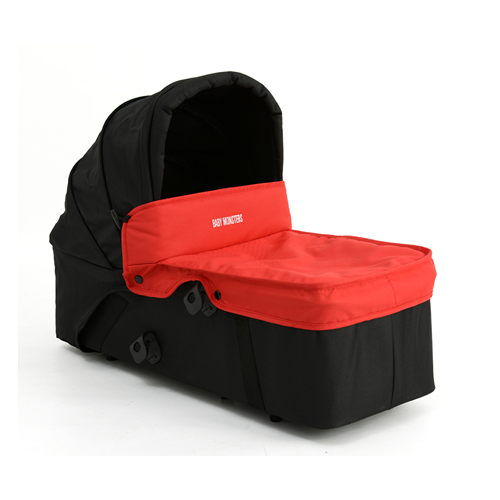 Capazo principal Easy Twin de Baby Monsters rojo