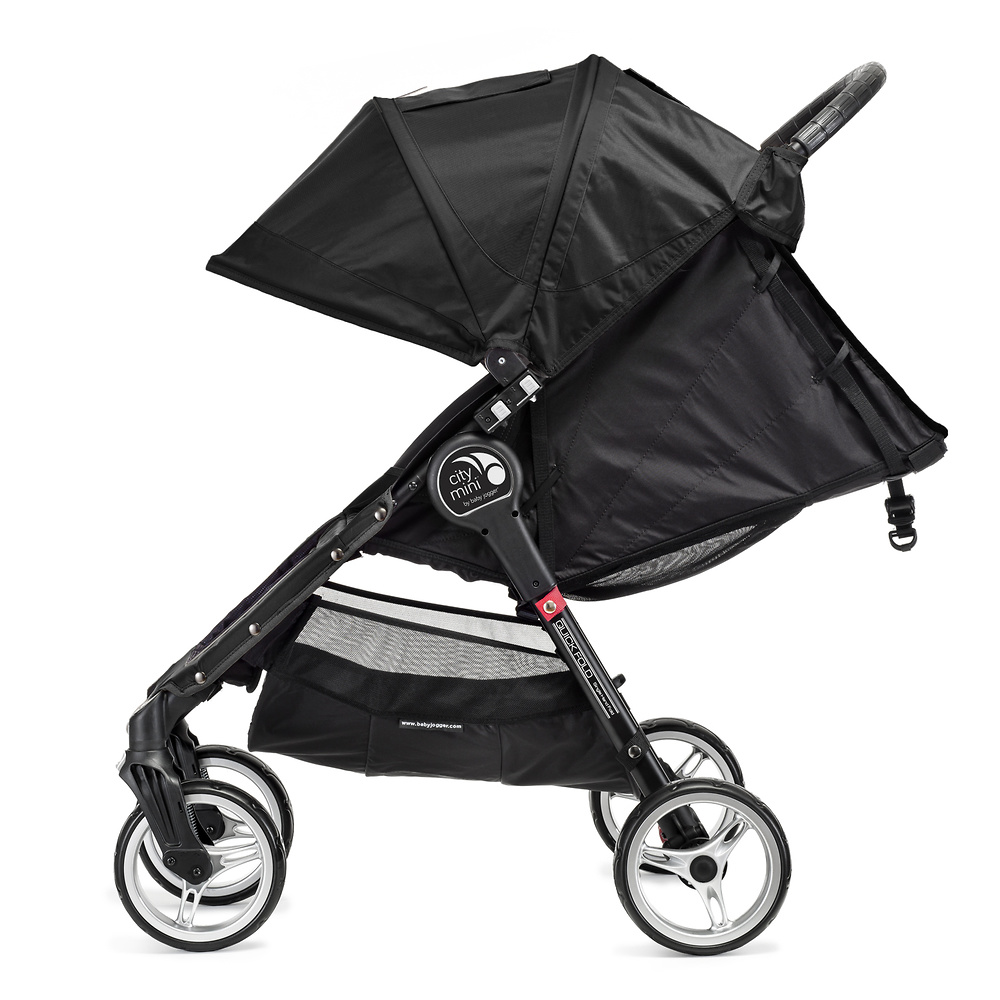 . Baby Jogger City Mini 4 negro gris + regalo