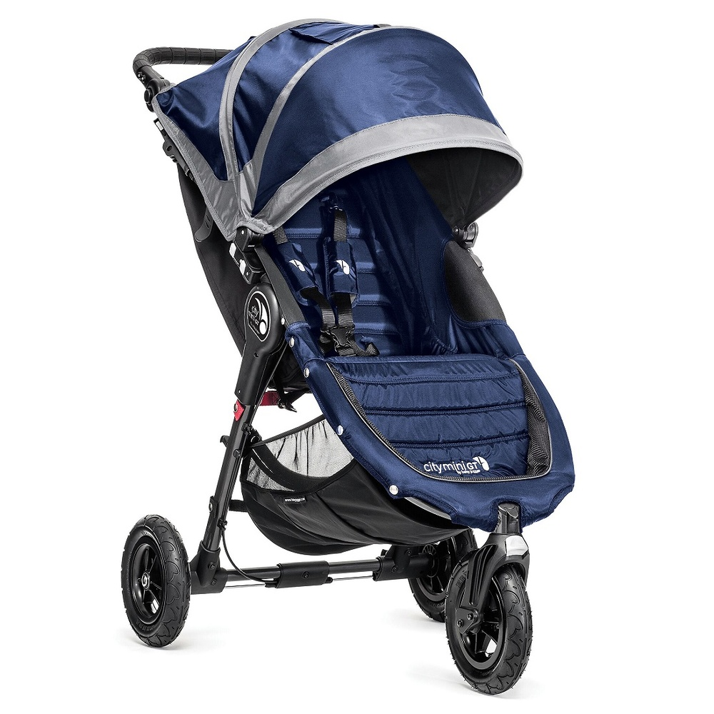 .Baby Jogger City Mini GT azulón gris + regalo