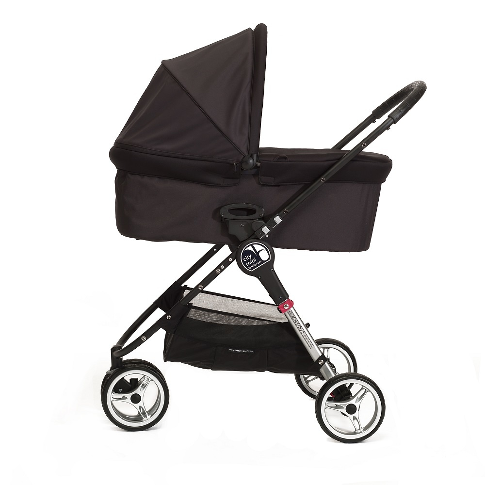 .Duo Baby Jogger City Mini 3 y Capazo Deluxe