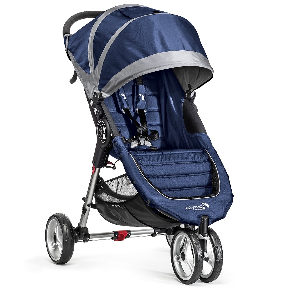 Baby Jogger City Mini 3 azulón gris + regalo