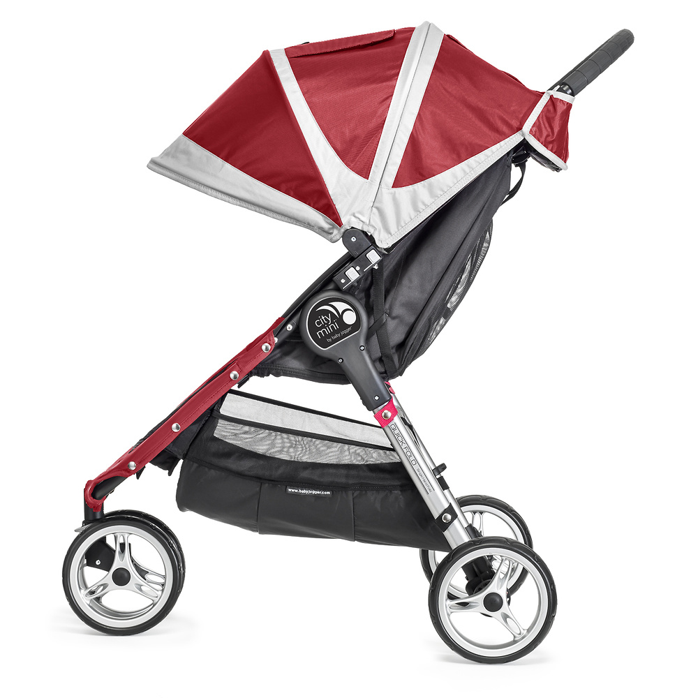 Baby Jogger City Mini 3 rojo gris