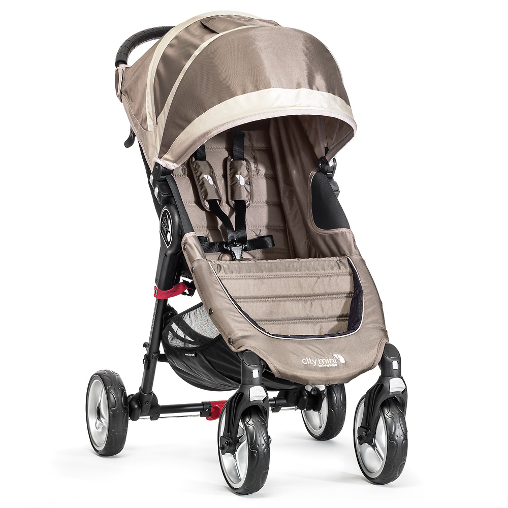 Baby Jogger City Mini 4 arena piedra + regalo