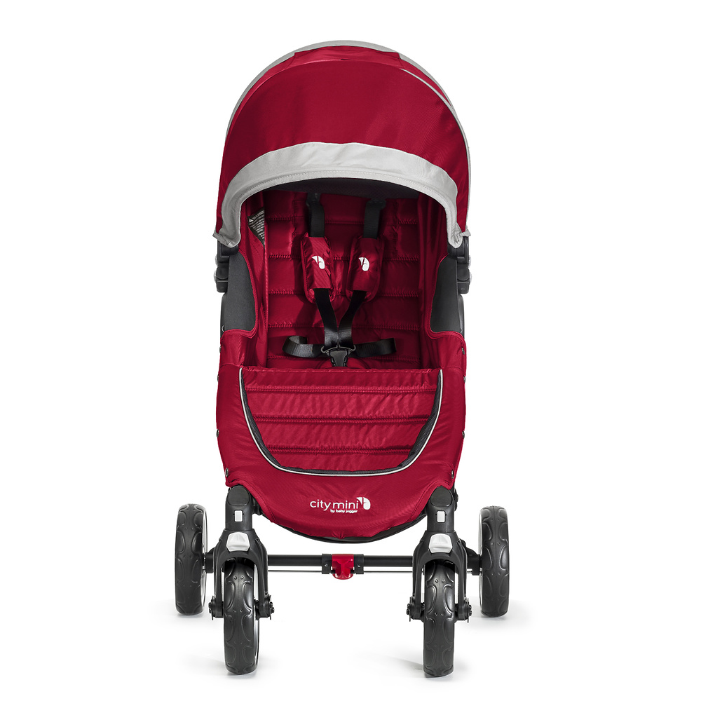 Baby Jogger City Mini 4 rojo gris