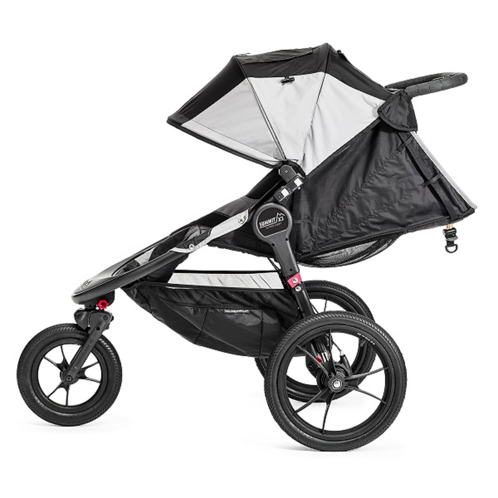 Baby Jogger Summit X3 negro gris