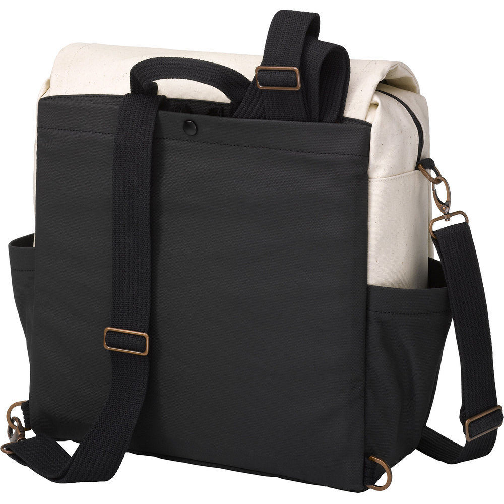 Boxy Backpack - Birch/Black