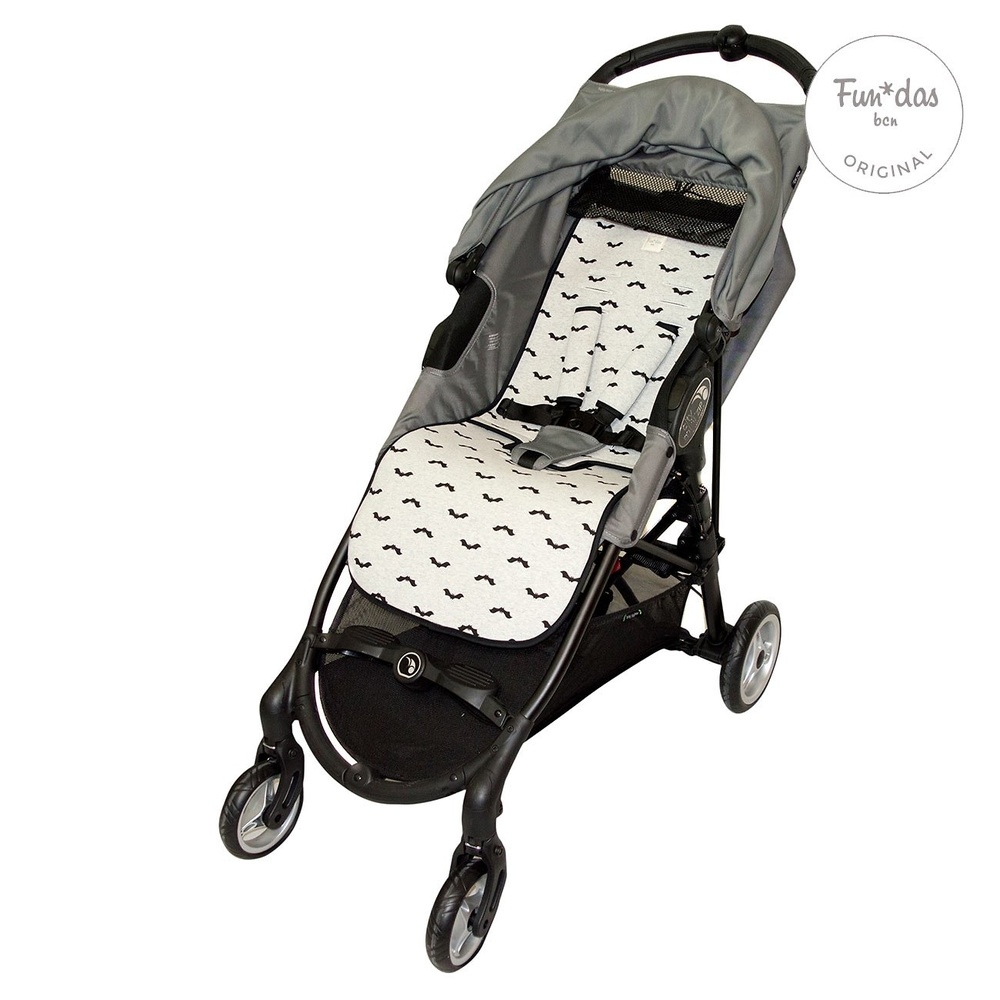 Silla de paseo color gris Baby Jogger City Mini ZIP
