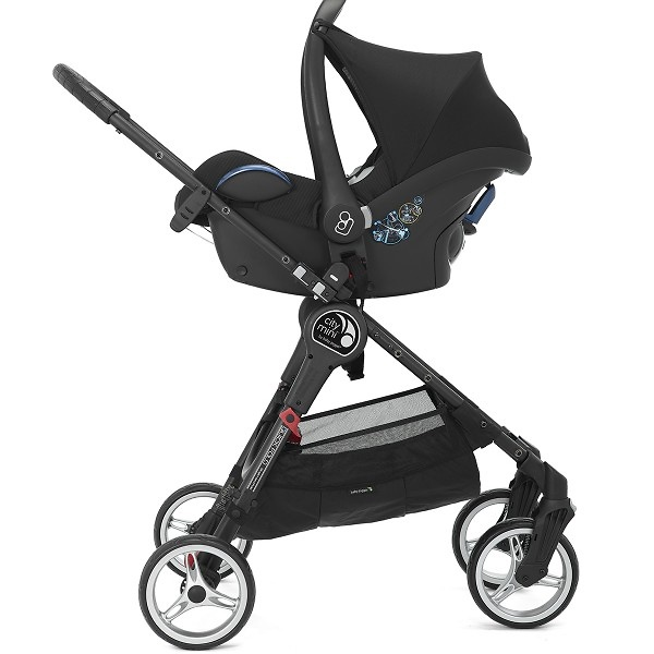 Duo Baby Jogger City Mini 4 y Silla de auto grupo 0 City GO i-Size