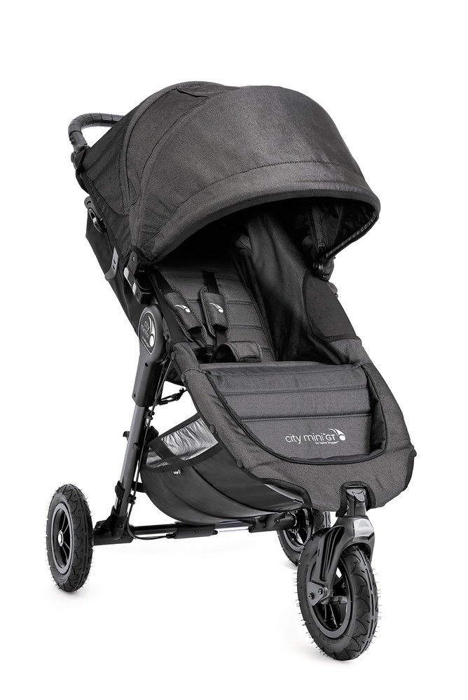 Duo Baby Jogger City Mini GT y Capazo Deluxe Denim + barra delantera