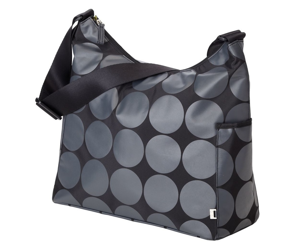 Hobo Charcoal Dot Lime Lining - OiOi 6059