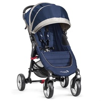 Baby Jogger City Mini 4 azulón gris + regalo