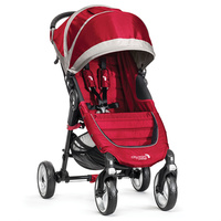 Baby Jogger City Mini 4 rojo gris + regalo