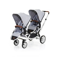 Coche gemelar Zoom Style Graphite Grey de ABC Design