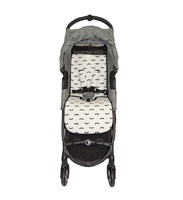 Colchoneta transpirable para Baby Jogger City Mini ZIP modelo Baby Bat gris