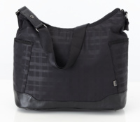 Hobo Black Printed Check - OiOi6543