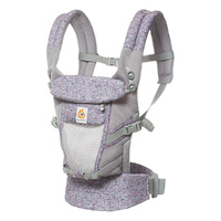 Mochila portabebé Ergobaby Adapt Cool Air color morado camuflaje