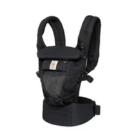 Mochila portabebé Ergobaby Adapt Cool Air color negro